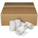 "2 1/4"" X 16' - Coreless Thermal Paper Rolls - 100 Rolls"